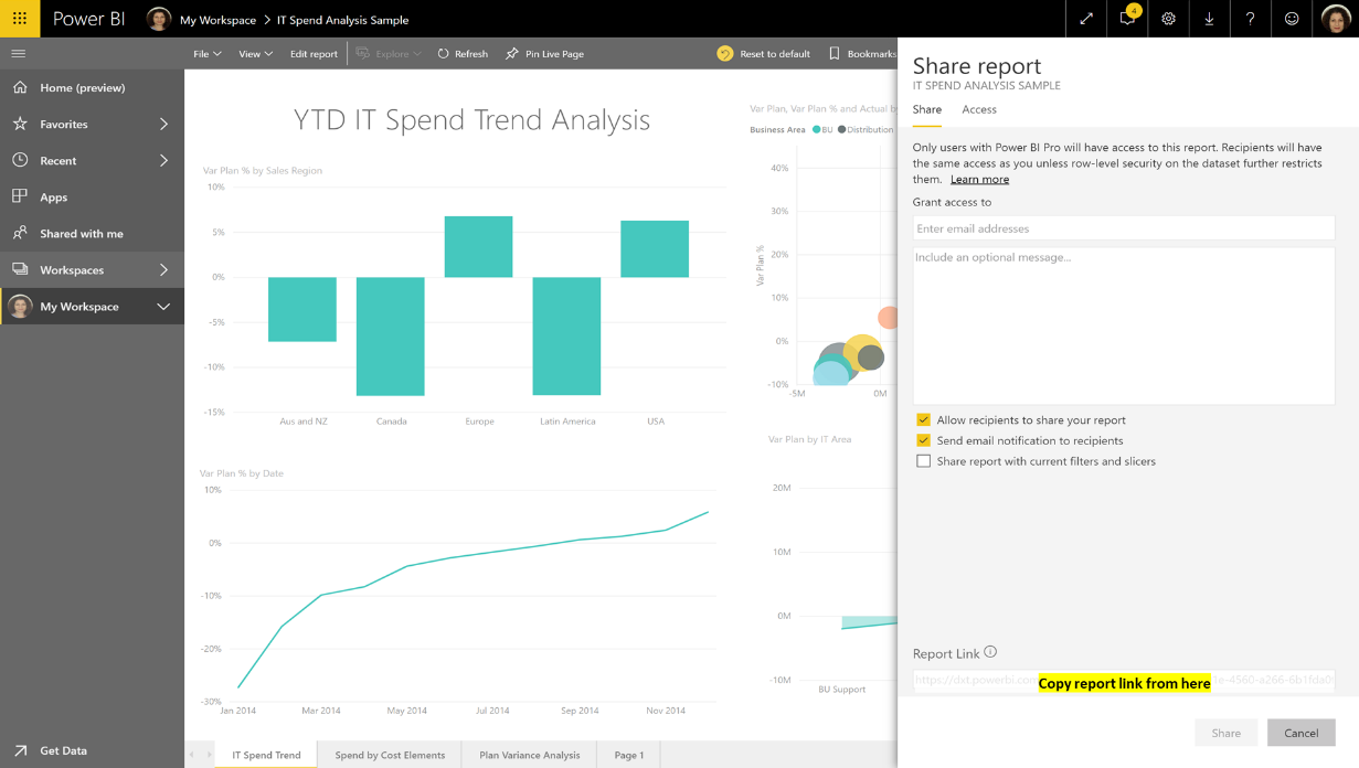 service sharing Power BI Mobile apps now support Azure AD B2B guest users