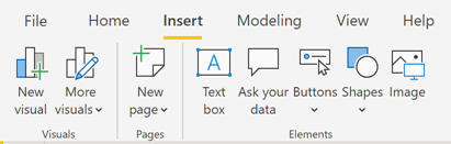 110919 0043 UpdatedRibb1 Updated Ribbon Experience for Power BI Desktop