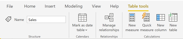 110919 0043 UpdatedRibb4 Updated Ribbon Experience for Power BI Desktop