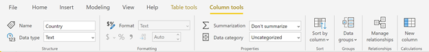 110919 0043 UpdatedRibb5 Updated Ribbon Experience for Power BI Desktop