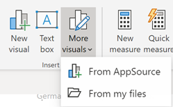 110919 0043 UpdatedRibb7 Updated Ribbon Experience for Power BI Desktop
