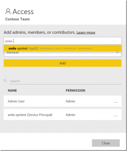 Announcing support for service principals using the XMLA endpoint in Power BI Premium